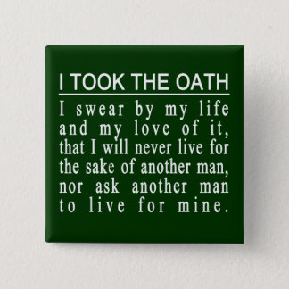John Galt Oath buttons