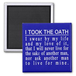 John Galt Oath magnet