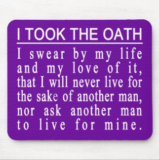 John Galt Oath mousepad