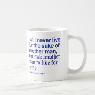 John Galt's pledge Classic White Coffee Mug