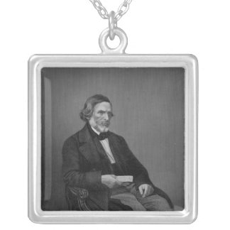 John Gibson Esq, from 'The Drawing Room Silver Plated Necklace