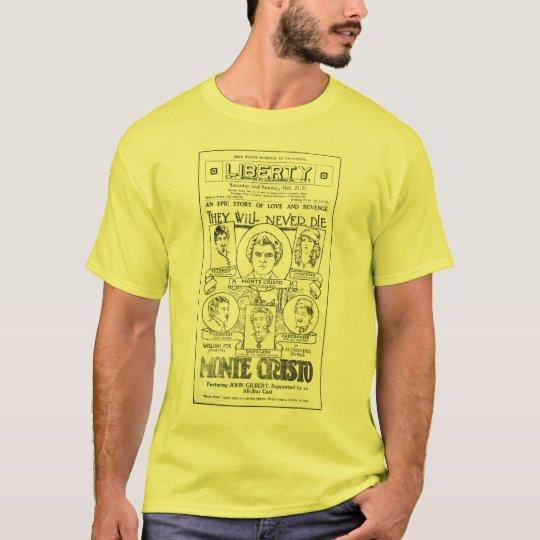 John Gilbert 1922 vintage movie ad T-shirt