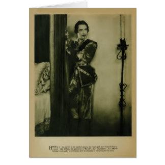 John Gilbert 1926 vintage portrait card