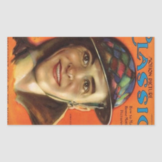John Gilbert 1926 vintage portrait Rectangular Sticker
