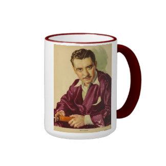 John Gilbert 1930 vintage portrait Ringer Mug