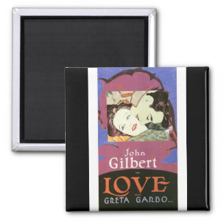 John Gilbert in LOVE with Greta Garbo Magnet