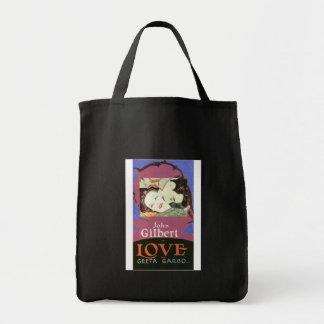 John Gilbert in LOVE with Greta Garbo Tote Bag