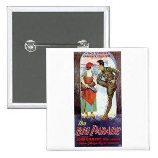 John Gilbert in The Big Parade Pins