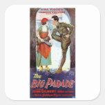 John Gilbert in The Big Parade Square Sticker