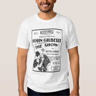 John Gilbert Renee Adoree The Show T Shirt