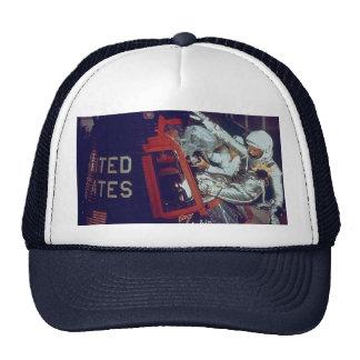 John Glenn Boards The Historic Friendship 7 Trucker Hat
