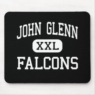 John Glenn - Falcons - alto - Walkerton Indiana Alfombrilla De Raton