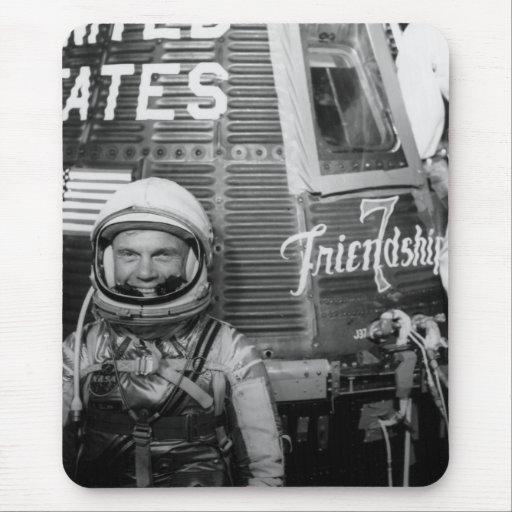 John Glenn  Mercury flight capsule Friendship 7 Mouse Pad