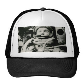 John Glenn On The Historic Flight Of Friendship 7 Hat