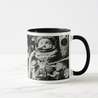 John Glenn On The Historic Flight Of Friendship 7 Mug