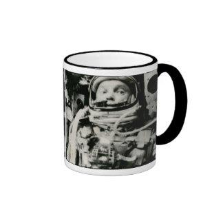 John Glenn On The Historic Flight Of Friendship 7 Mug