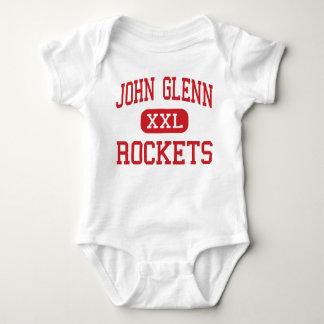 John Glenn - Rockets - altos - Westland Michigan Mameluco De Bebé