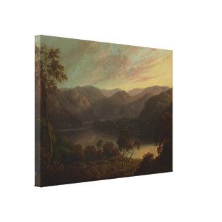 John Glover - Landscape view in Cumberland Canvas Print