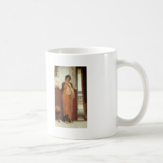 John Godward- A Stitch in Time (Idle Thoughts) Classic White Coffee Mug