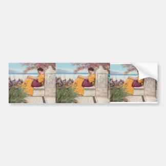 John Godward-Under the Blossom that Hangs on Bough Car Bumper Sticker