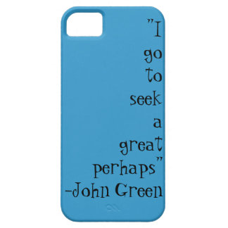 John Green Quotes Case iPhone 5 Covers