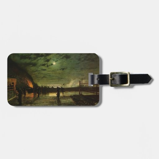 John Grimshaw- In Peril (The Harbour Flare) Luggage Tag