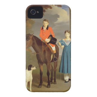 John Gubbins Newton and his Sister Mary, 1832-33 ( iPhone 4 Cover