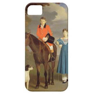 John Gubbins Newton and his Sister Mary, 1832-33 ( iPhone SE/5/5s Case
