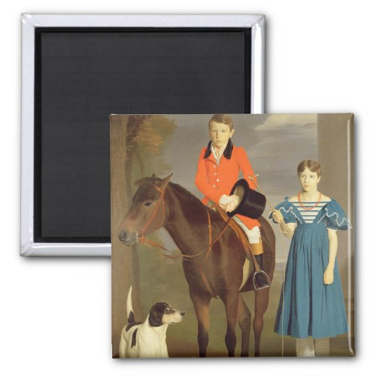 John Gubbins Newton and his Sister Mary, 1832-33 ( Magnet