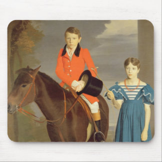 John Gubbins Newton and his Sister Mary, 1832-33 ( Mouse Pad