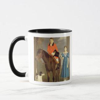 John Gubbins Newton and his Sister Mary, 1832-33 ( Mug