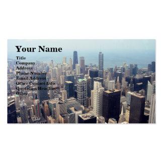 John Hancock Center and Trump Tower Business Card