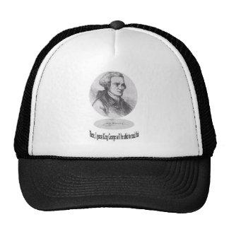 John Hancock, Signature and Quote Trucker Hat