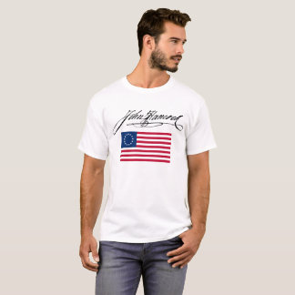 John hancock signature flag T-Shirt
