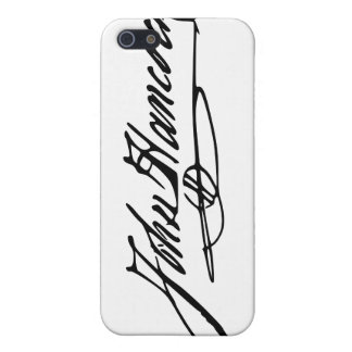 John Hancock Signature iPhone 5 Case