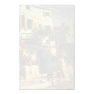 John Henry Twachtman- A Venetian Scene Personalized Stationery