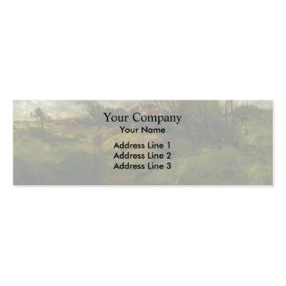 John Henry Twachtman- Cincinnati Landscape Business Card Templates