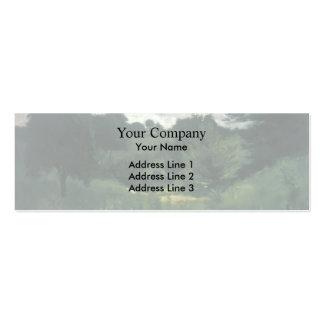 John Henry Twachtman- Dark Trees, Cincinnati Business Card Template