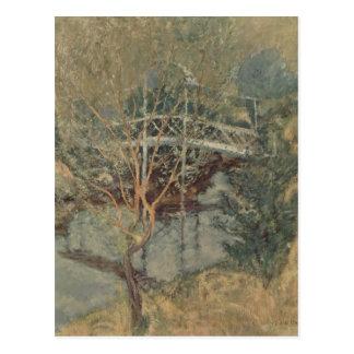John Henry Twachtman- el puente blanco Postales