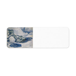 John Henry Twachtman- Falls in January Custom Return Address Labels