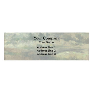 John Henry Twachtman: Paradise Rocks, Newport Double-Sided Mini Business Cards (Pack Of 20)