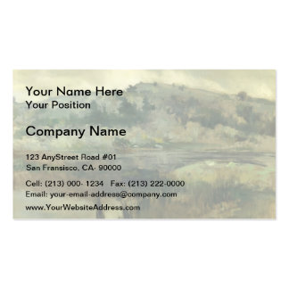 John Henry Twachtman: Paradise Rocks, Newport Double-Sided Standard Business Cards (Pack Of 100)