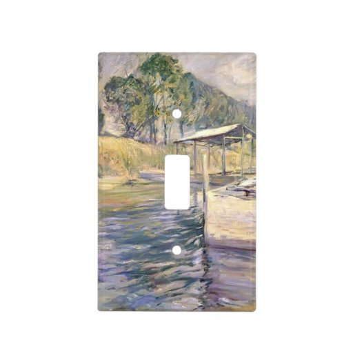John Henry Twachtman- Reflections Switch Plate Covers