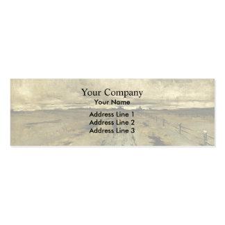 John Henry Twachtman- Road Scene, Cincinnati Business Card