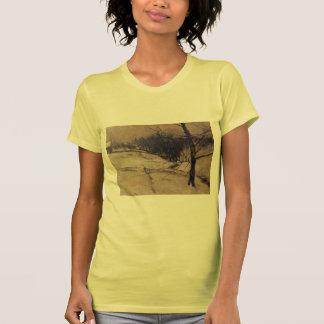 John Henry Twachtman- Snow Scene T-shirts