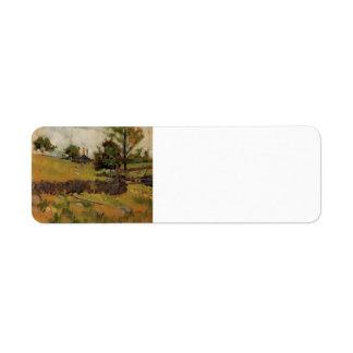 John Henry Twachtman- Spring Landscape Labels