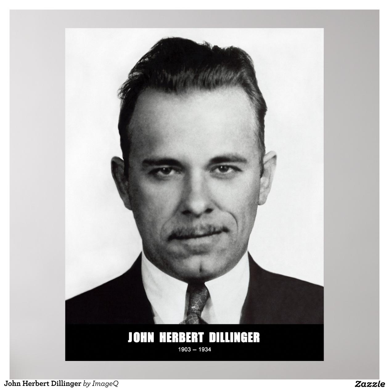 ... taringa john herbert dillinger framed prints john herbert dillinger