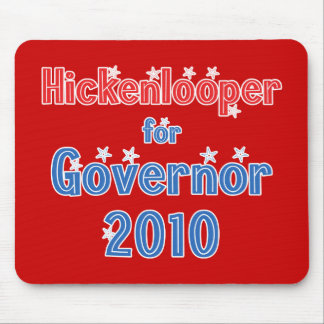 John Hickenlooper for Governor 2010 Star Design Mouse Pad