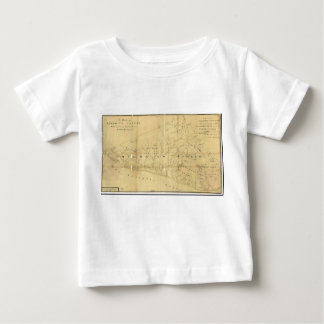 John Hills Map of Monmouth County New Jersey 1781 T-shirt