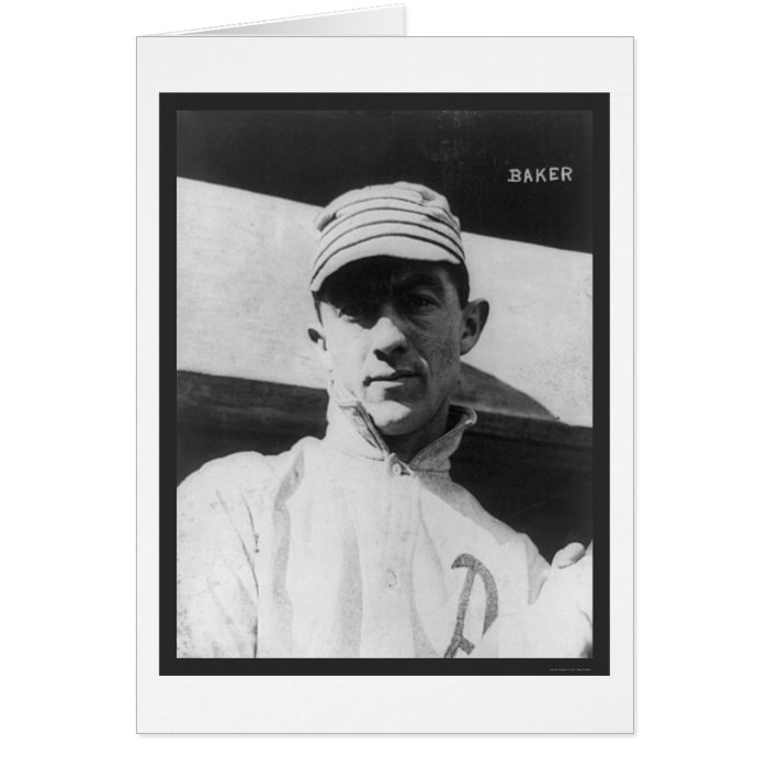 John (Home Run) Baker Athletics Baseball 1914 Card